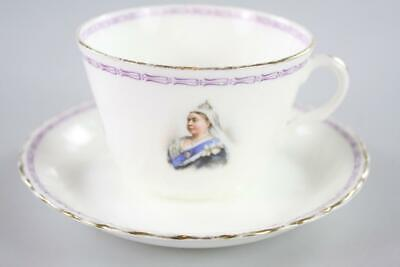 Royal Doulton Antique Queen Victoria Memorial Tea Set