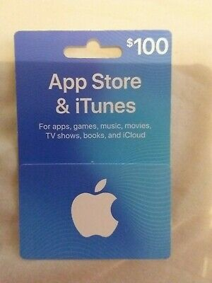 App Store iTunes Gift Cards - $100
