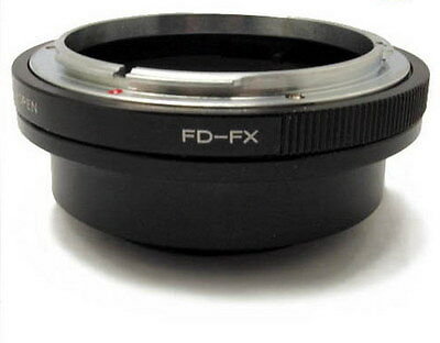 Brand NEW Mount adapter For Canon FD  lens to FUJIFILM  X  digital cameras