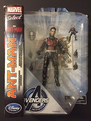Marvel Select Disney Store Exclusive Ant-Man Action Figure Avengers Initiative