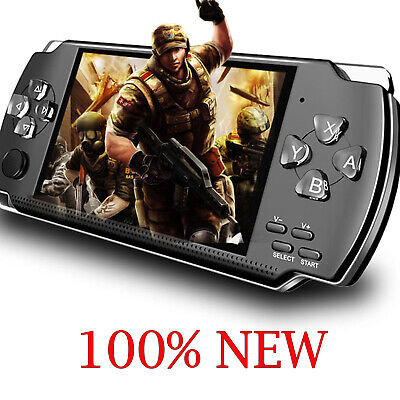 8GB Handheld PSP Game Player Built-in Games 4.3'' Portable Consoles NEW AU ZM