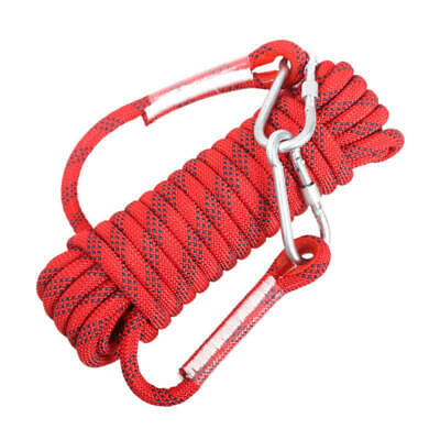 Climbing Escape Rope Fire Rescue Parachute Rope Outdoor Cord Safety Rope 8mm