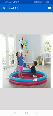 Little Tikes Kids And Childrens Water Fun Drop Zone Paddling Pool