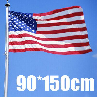 5x3ft USA American Star & Stripes America National Flag Independence Day Flag