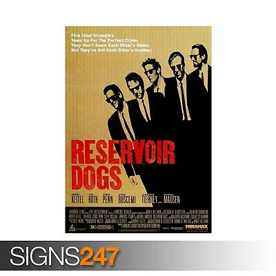 Reservoir Dogs Classic Movie Large Poster Art Print Maxi A0 A1 A2 A3 A4