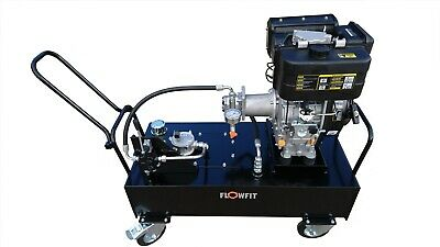 Loncin Diesel Engine Driven, Hydraulic Double Acting Power Unit