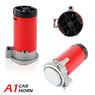 12V DC Air Compressor For Horn Car Truck Auto Vehicle Electric Machine NEW Red