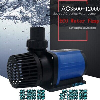 Jebao Eco Energy Saving Submersible Pond Water Pump 3500-12,000L/H 30-85W