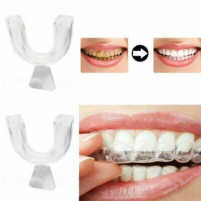 Teeth Whitening Mouth Trays Guard Thermo Gum Shield Tooth Bleaching Grinding UU