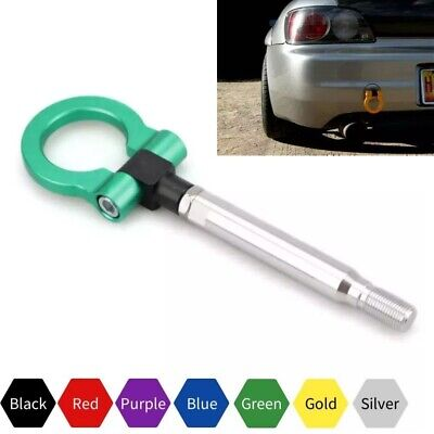 Green Track Racing Aluminum Tow Hook Towing Ring Trailer for Subaru Forester BRZ