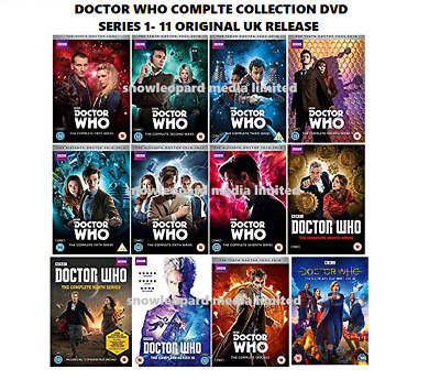 Doctor Dr Who Complete Series 1-11 Dvd Collection Season 1 2 3 4 5 6 7 8 9 10 11