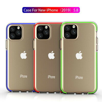 Colorful Bumper Shockproof Clear Soft Cover Case For iPhone 11 Pro Max 7 8 XS XR