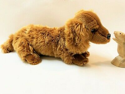 Peter Alexander's  Penny Dachshund Dog Soft Plush Toy,  40cm Long Approx