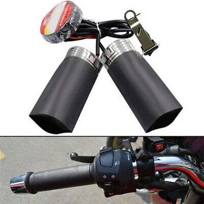 Heated Grips Inserts Handlebar Hand Warmers Fits for ATV Motorcycle BHR
