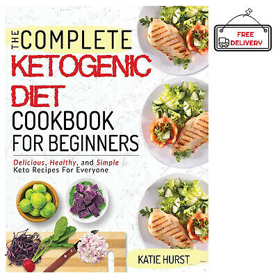Ketogenic Diet Beginners Keto Weight Loss Health Cookbook Cook Book Recipes NEW
