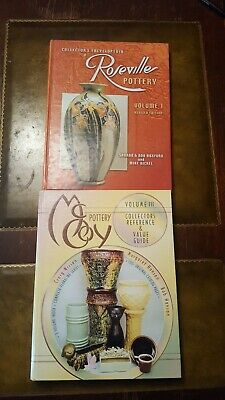 Roseville Pottery And McCoy Pottery Collectors Guides