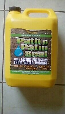 405 Path & Patio Seal Block Paving  5 Litre Water Sealer