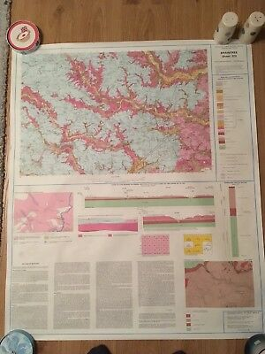 BRAINTREE Geological Survey Map 1:50000  SOLID & DRIFT sheet 223