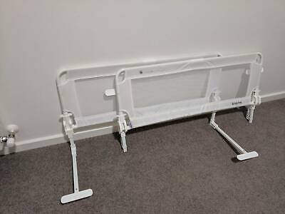 2x Veebee fixed bed guard / gate to stop children falling out of