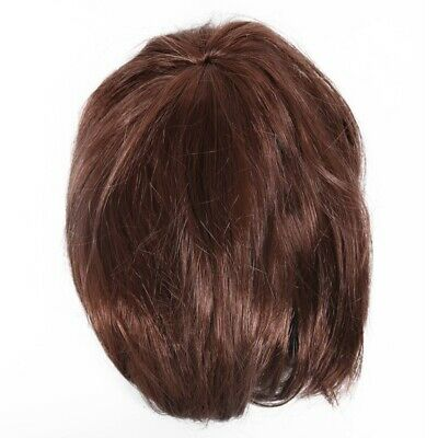 Adult Short Bob Costume Fake Hair Babe Wig Fashion Ladies Womens Cosplay Fa W2L7