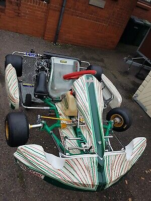 Tony kart rotax max Strawberry Cream  junior mini max Kart karting trolley wets