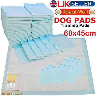 50 100 150 200 60X45Cm Large Pet Dog Cat Puppy Pee Wee Toilet Training Pads Mats