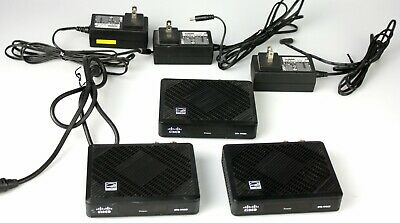 Lot of 3 Cisco DTA 170HD Digital Transport Adapter Cable Box HDMI HD TV