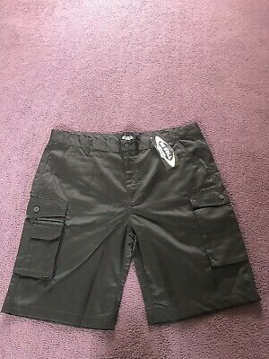"""two pairs of mens No Bull work black cargo shorts BNWT size 40"""" waist"""