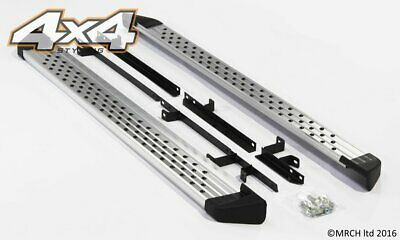 For Nissan Qashqai 2007 - 2013 Side Steps Running Boards Set - Type 2
