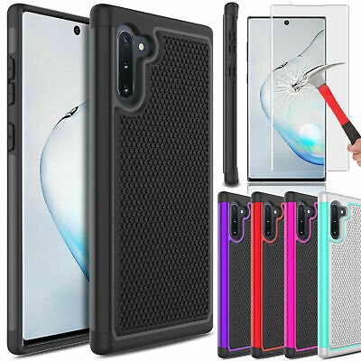 For Samsung Galaxy Note 10/10+ Plus Hybrid Slim Armor Defender Impact Case Cover