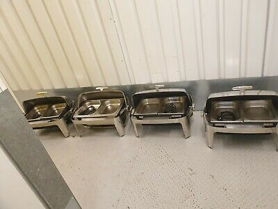 Joblot  4 Electric  ROLL TOP CHEFER COMPLETE  WITH PAN Hotels  Restaurant ...