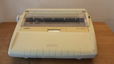 Brother AX-430 Vintage Portable Electronic Typewriter Grade B