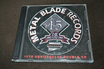 Metal Blade Records 15th Anniversary 2 CD Attic / Metal Blade Canada Club Editio