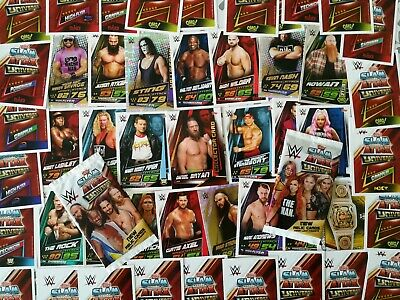 WWE Slam Attax Universe cards 2019 Topps *PICK ANY 6 CARDS*please read NXT UK