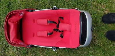Quinny BUZZ Seat Unit With Matching Chest Pads
