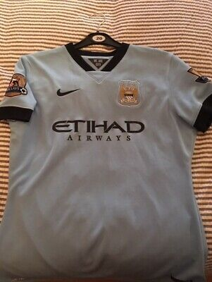 Manchester City Fc - Match Worn/Player Issue Shirt - Demichelis