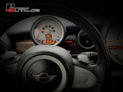 P3Cars Performance Display für Mini R55 R56 R57 R58 R59 inkl. Öltemperatur