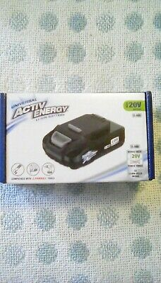 Activ energy 20v Li-ion Battery.for ferrex tools