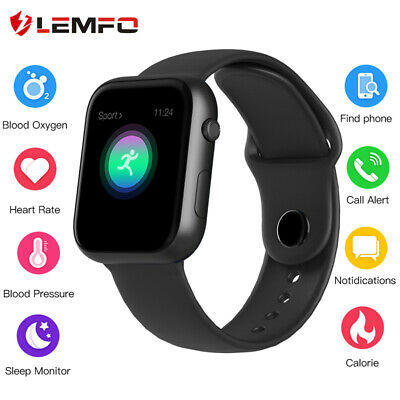 Lemfo 2019 SX16 Presión sanguínea IP67 smart watch Reloj inteligente Android IOS