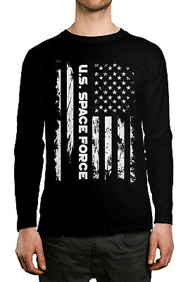U.S. Space Force United States Warfare Branch Service  Long Sleeve Men's Shirt