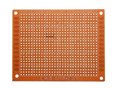 10 piece single sided perf board, DIY prototyping PCB 90mm x 70mm