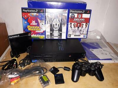 Playstation 2 Fat console SCPH-39004 GIOCO CLEB FOOTBALL 2005 JUVE