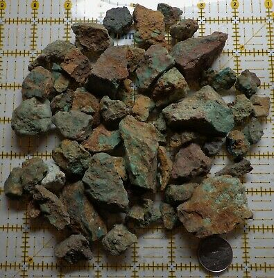 Turquoise by the Pound - Rough Mix Pixie, Fox, Orville Jack, Carico Lake, Nevada