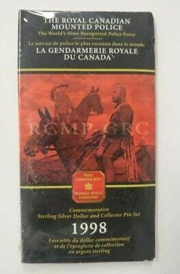 The RCMP - Commemorative Sterling Silver Dollar & Collector Pin Set