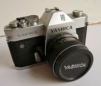 Vintage Yashica TL Electro X SLR 35mm Camera with 50mm Lens