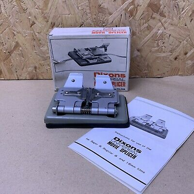 Dixons Universal Movie Splicer For Super 8. Standard 8 & 16mm Film - Boxed