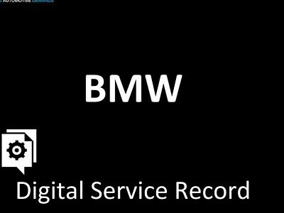 Bmw Service History Check Main Dealer Copy Dates Miles and Dealerships