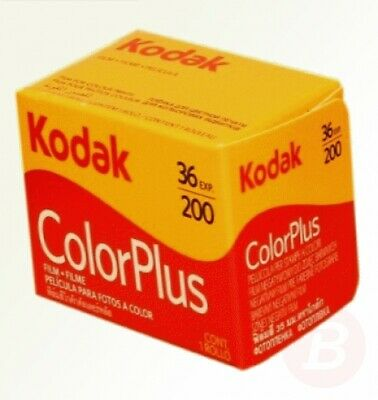 Kodak Colorplus 5 Pack 200asa 36exp Film