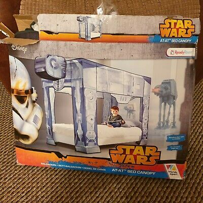 Disney star wars AT-AT bed canopy by world apart ready room for single bed