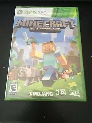 Minecraft Xbox 360 Edition - Factory Sealed Xbox 360 Game Brand New NTSC